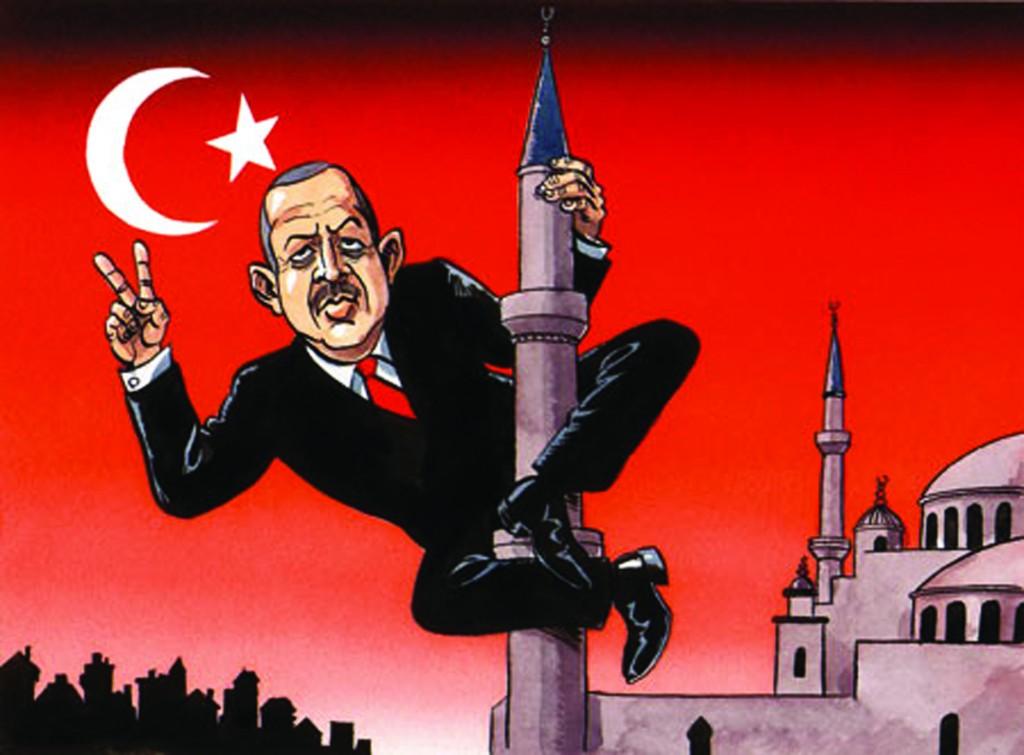 Карикатуры на эрдогана в германии