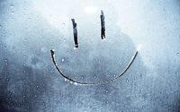 улыбка на окгне